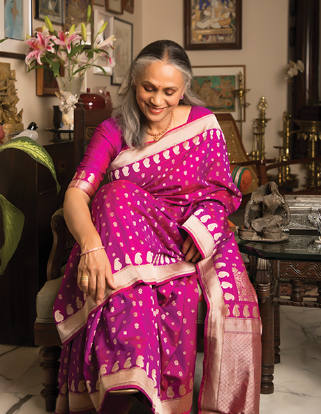 <p>Don't Be Content (DBC) proposed an exclusive medium of communication through 'Signature', a beautifully designed large-size magazine that featured accomplished women of beauty and grace. The ladies were to talk of their life inspirations and how sarees formed an integral part of their personal expression of aesthetics. The magazine was to be shared with the Ministry of Textiles, placed in stores and sent out to an exclusive list of stylish, talented women achievers.</p>