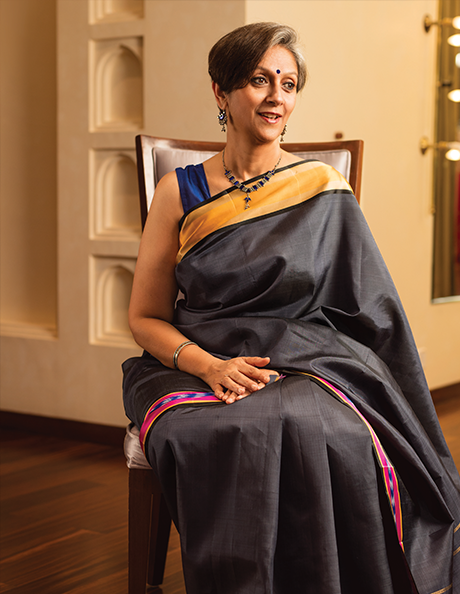 <p>There have been three editions of 'Signature' so far. For the launch edition, the ladies were invited to the Taniera showroom in Bangalore where they were styled and photographed in their choice of Taneira sarees. For the Delhi edition, the venue was a sprawling, old-style boutique. Exclusive one-to-one conversations led to signature pieces on the ladies which were juxtaposed with the large, full-size portraits in eye-catching layouts.</p>