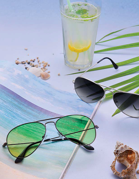 <p>The layout and design of the lookbook was created by DBC's team of graphic designers. Once the products were sourced from the client, DBC's photographer was tasked with doing a photoshoot to represent the eyewear in their different categories. Simultaneously, two social media influencers were provided with a set of eyewear options to showcase how they would team the particular sunglasses with their personal fashion style. They were also interviewed, and their statements were integrated into the lookbook alongside the content. Once finalised, the lookbook was sent for printing after being proofread ensuring that the layout matched the eyewear, that the influencers' statements were in line with Fastrack's brand identity and the content connected with the brand's target audience. A digital version was also created to be used by the brand as emailers.</p>