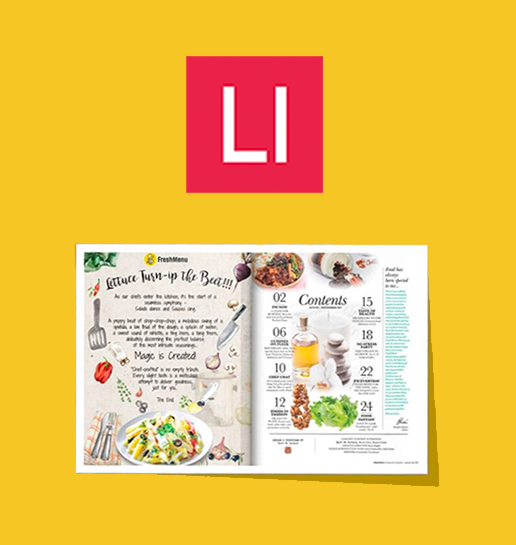 Why online food ordering startup FreshMenu  launched a print magazine